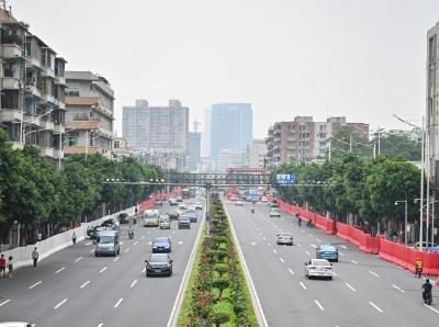 广州荔湾区芳村片区恢复对外人员和交通通行