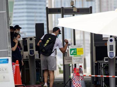 东京奥运会开幕倒计时9天 运动员陆续搬进奥运村