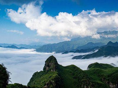 重庆:金佛山出现云海景观