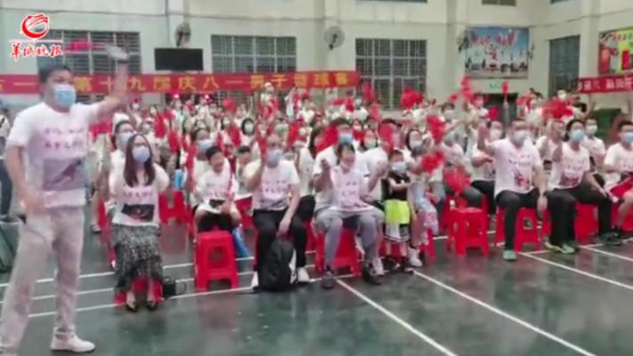 【现场视频】苏炳添创造历史!他的家乡中山古镇母校掌声响彻