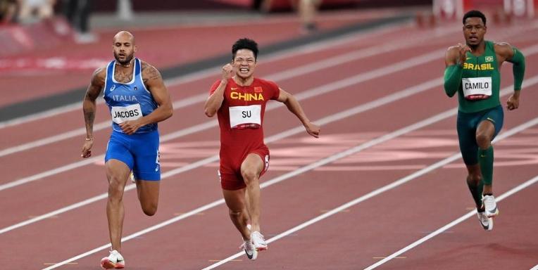 苏炳添百米半决赛