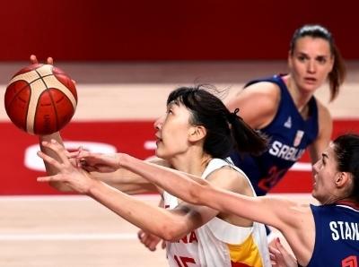 中国女篮遗憾落败 无缘奥运会四强