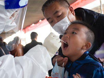 兰州中小学紧急停课 师生全员核酸检测